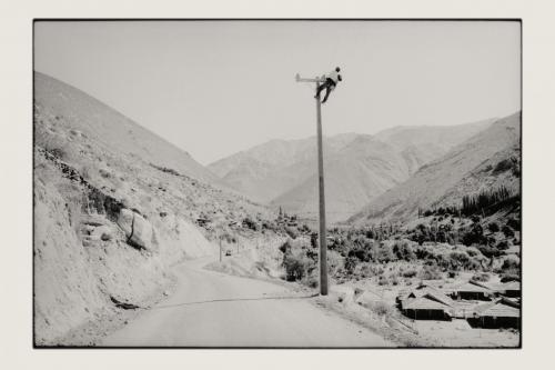 MANN AM MAST, Valle de Elqui - Chile 2005